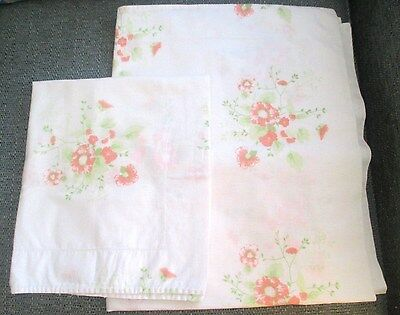 Vintage Matching Large And Small Patterned Pillow cases