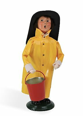 Byers Choice Halloween Boy in Fireman Costume '16 Open House Exclusive Signed JB