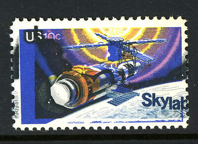 1529 Skylab Space Stamp Variety Dramatic Shift of Black and Blue MNH 6G28 8