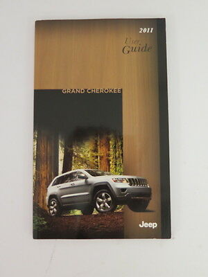 2011 Jeep Grand Cherokee Owners Manual Guide Book