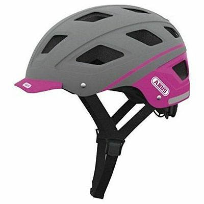 Abus Hyban Casque vélo Label Grey Taille M 52-58 cm [Taille M 52-58 cm] NEUF