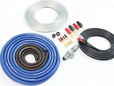 KnuKonceptz KCA 8 Gauge TRUE 8 Gauge Amp Kit Installation Wiring Kit