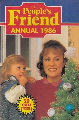 The People's Friend Annual 1986 - D C Thomson - Acceptable - Hardcover