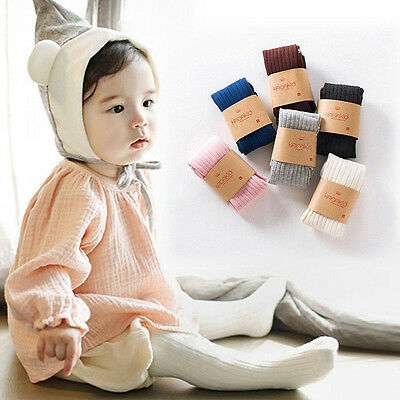 0-5Y Baby Pantyhose Socks Toddler Infant Kids Girl Cotton Warm Stockings Tights