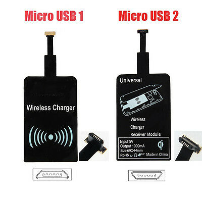 New QI Wireless Charging Receiver Charger Module For Micro USB 1 2 Cell Phone