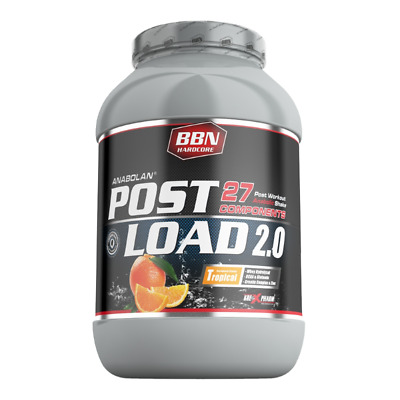 (24,17 EUR/kg) Best Body Nutrition Hardcore Anabolan PostLoad 2.0 Tropical 1800g