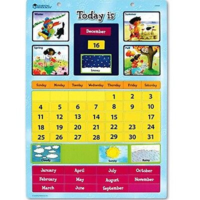 Generic Learning Resources Magnetic Learning Calendar