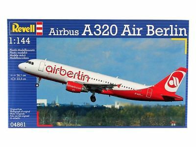 Revell 04861 - 1/144 Airbus A320 - Air Berlin - Neu