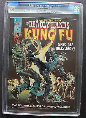 Deadly Hands of Kung Fu #11 Billy Jack ADAMS 1975 Shang-Chi PEREZ CGC NM+ 9.6