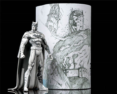 Sdcc Comic Con 2015 Dc Comics Blueline Edition Batman Action Figure By Jim Lee