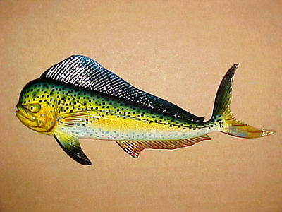 "8"" MAHI Wall Decor Beach Tropical Fish Ocean Dolphin Fishing Nautical"