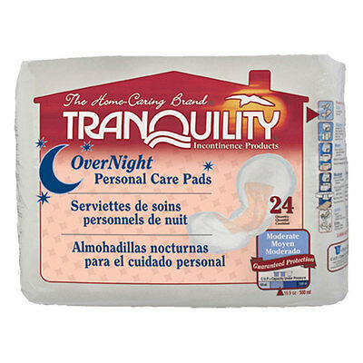 Tranquility 2382 Tranquility Overnight Personal Care Pad 96/case