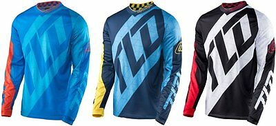 Troy Lee Designs Mens GP Quest Ventilated MX Motocross Riding Jersey