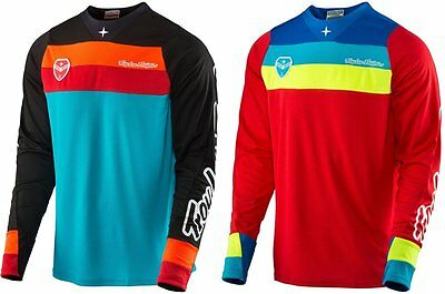 Troy Lee Designs Mens SE Corsa MX Motocross Polyester Riding Jersey
