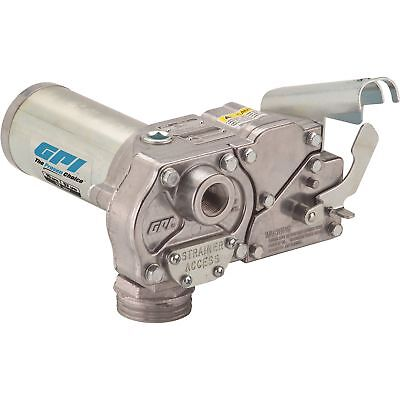 GPI Fuel Transfer Pump - 12 Volt DC, 15 GPM, Model# M-150S-E-PO