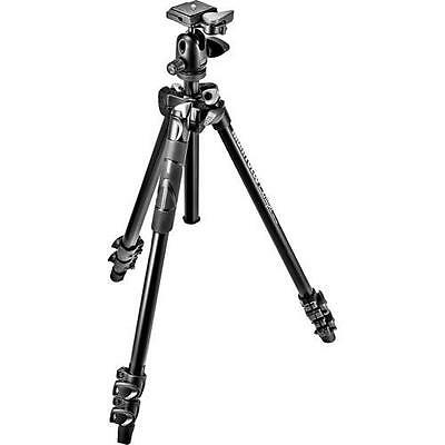 GENTLY USED Manfrotto PrimaPhoto Small Travel Kit Tripod, Black #PHTRSSL