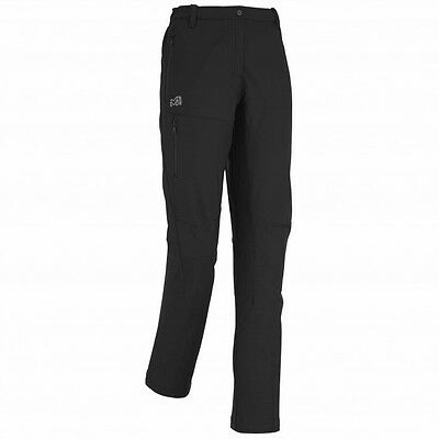 Millet All Outdoor Lady Pant, Softshellhose für Damen, schwarz