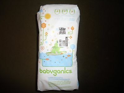 Babyganics Color Changing Disposable Swim Pants UPF50+ Sz Small Medium Large