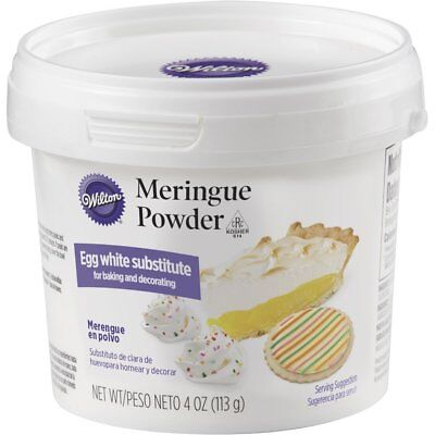 Wilton 4 Ounce Meringue Powder Mix - Egg White Substitute