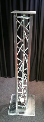 Upright stand moving head package, 290mm 2.5m tri truss NEW