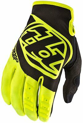 Troy Lee Designs Mens GP MX Motocross Riding Gloves Large Flo Yellow