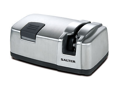 Salter Electric Knife Sharpener - Stainless Steel -718A SSXR13