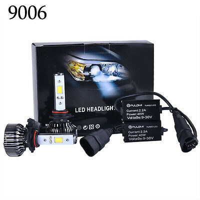 Hot 80W 7200LM 9006 CREE LED Lamp Headlight Kit Car Beam Bulbs 6000k 12V Upgrade