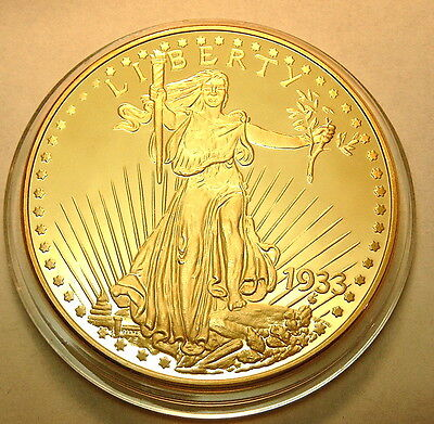 USA 2003 Gold Double Eagle Liberty 1933 pp teuerste Münze der Welt 32g Rep. neu