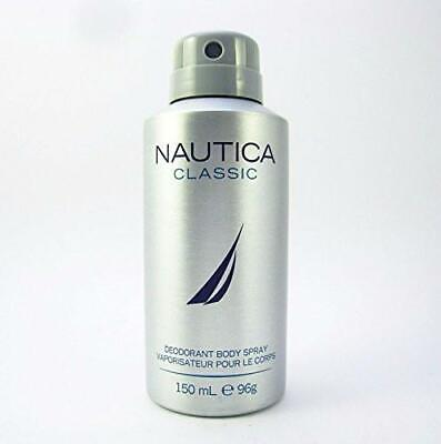 NAUTICA CLASSIC DEODORANT BODY SPRAY 5.0 oz