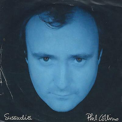 """Phil Collins """"sussudio-The Man With The Horn"""" 7"""" Uk Press 1985"""