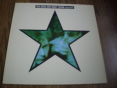 The Jesus And Mary Chain - Automatic Lp 1989 Blanco Y Negro Ex