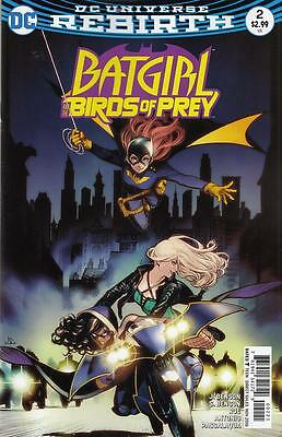 BATGIRL AND THE BIRDS OF PREY #2 VARIANT (DC 2016 1st Print) Rebirth COMIC