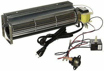 "Tjernlund 15"" Fireplace Blower W/ Speed Control Adjustable Thermal Switch 160CFM"