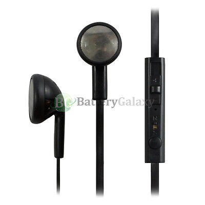 100 Headphone Headset Mic Volume Earbuds 3.5mm for Alcatel One Touch Dawn Fierce