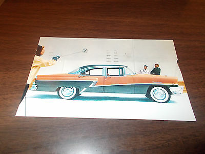 1956 Mercury Montclair 4-Door Sedan Advertising Postcard