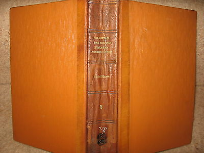 History of Modern Architecture VOL 2 James Fergusson +WELL ILLUSTRATED 1891