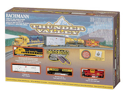 NIB N Bachmann #24013 Thunder Valley Train Set