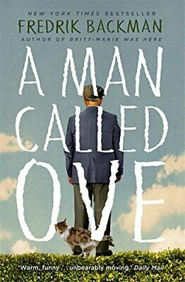 A Man Called Ove by Fredrik Backman Book The Cheap Fast Free Post
