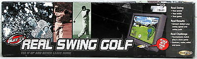 Radica's Plug n Play Real Golf Swing Response Aide Play TV Television Tee It Up