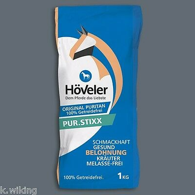 Höveler Pure Stixx 1Kg Grain free Horse Treats original Puritan Treats