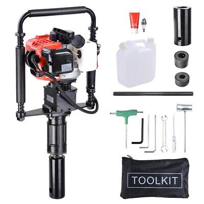 Gas Powered T-Post Driver 32cc Gasoline Single Cylinder Petrol Push Pile Driver