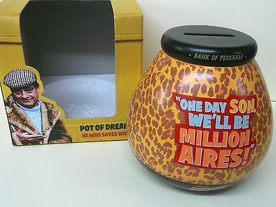 'only Fools And Horses' Pot Of Dreams Money Box.brand New In Box Fast Postage.