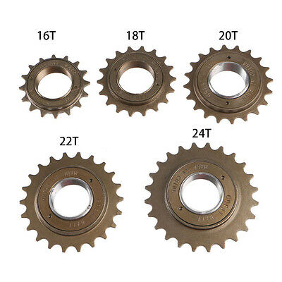 BMX Bike Bicycle 16/18/20/22/24T Tooth Single Speed Freewheel Sprocket Part New