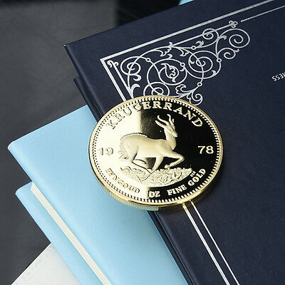 South Africa 1978 Krugerrand Gold Color Coin, USID-Afrika Coins
