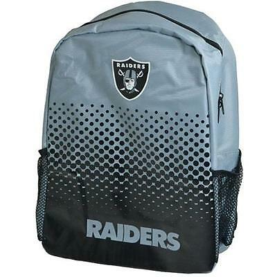 Oakland Raiders - Fade Logo Backpack / Rucksack - New & Official NFL