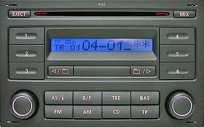 Volkswagen VW Sharan Lupo Polo RCD200 mp3 CD Radio + Audio Code 3Months Warranty