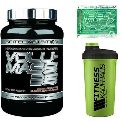 (24,92 EUR/kg) Scitec Nutrition Volumass 35 - 1200g Gainer + Shaker + Probe