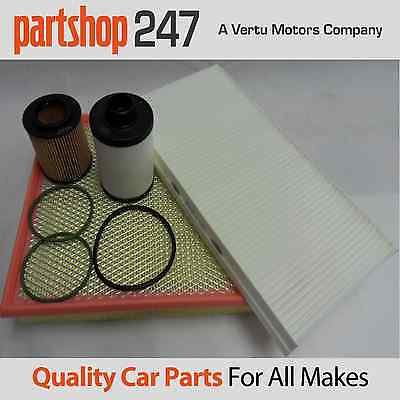 Vauxhall Vectra C 1.9CDti Service Kit Oil Air Fuel Cabin Filter