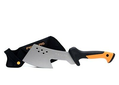 Fiskars 385071-1001 18 in. Steel Blade Clearing Hatchet with Sheath  (S10009557)