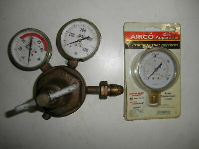 Compressed Gas Regulator with Gauges S-S